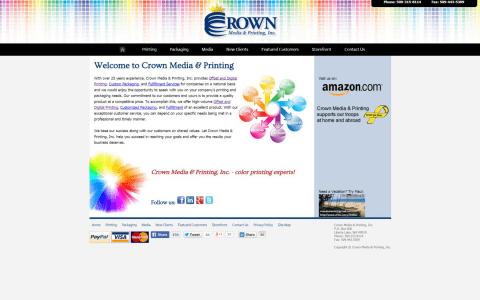 Crown Media & Printing