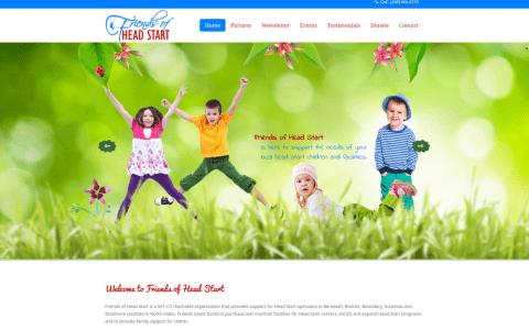 Portfolio: Friends of Head Start